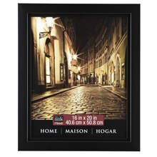 "Studio Décor Home Collection Classic Frame, Black 16"" x 20"""